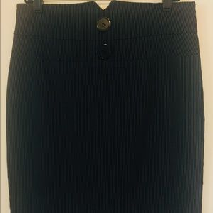 ABN High Waist Stretch Pencil Skirt
